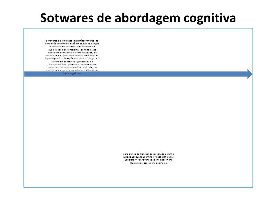 Sotwares de abordagem cognitiva
