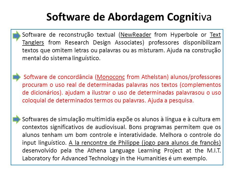 Software de Abordagem Cognitiva