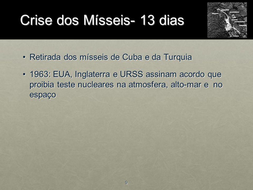 Crise dos Mísseis- 13 dias