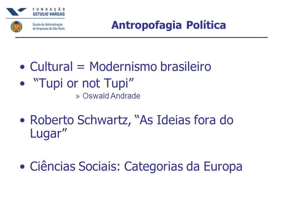 Antropofagia Política