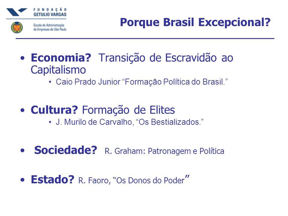 Porque Brasil Excepcional