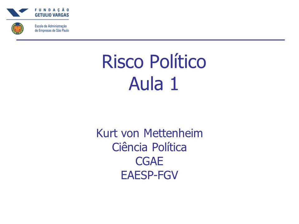 Kurt von Mettenheim Ciência Política CGAE EAESP-FGV