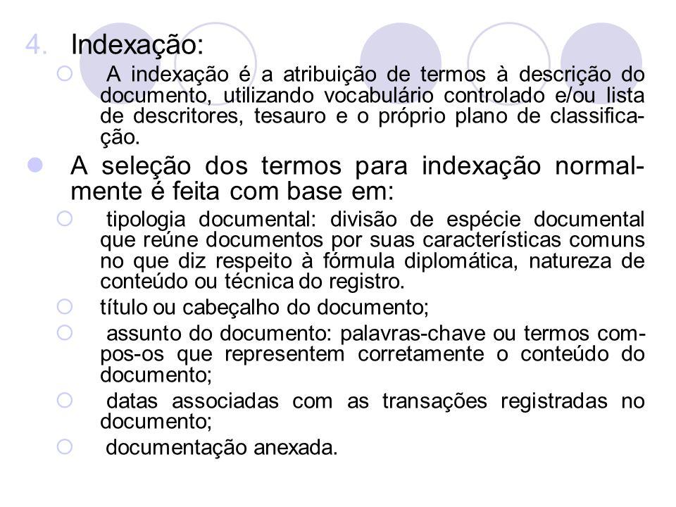 Indexação: