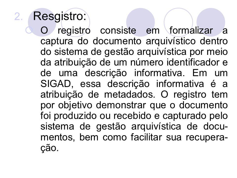 Resgistro: