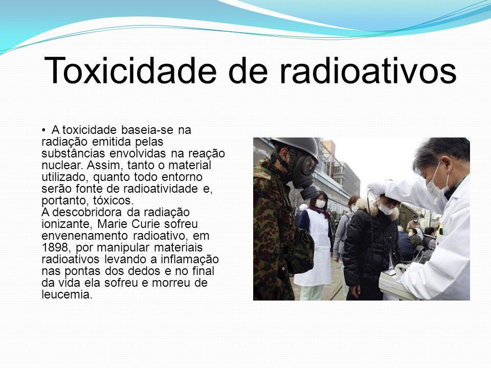 Toxicidade de radioativos