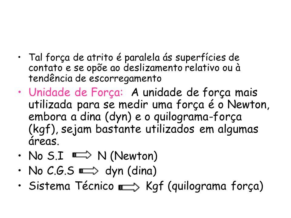Sistema Técnico Kgf (quilograma força)