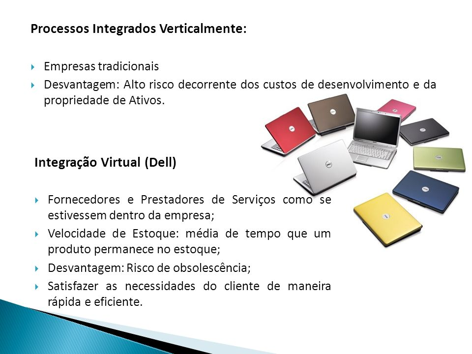 Processos Integrados Verticalmente: