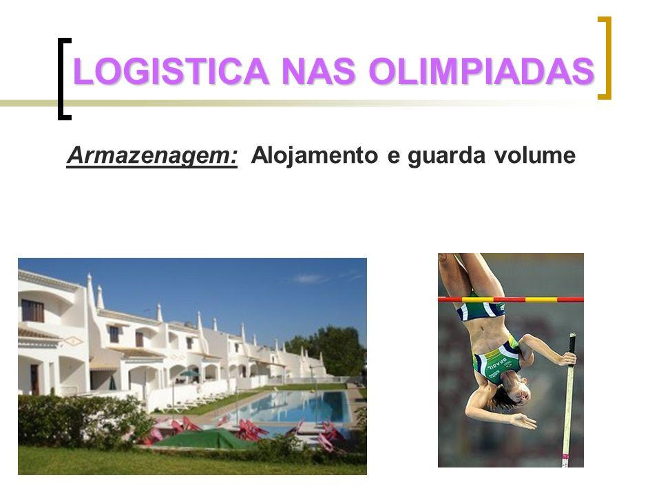 LOGISTICA NAS OLIMPIADAS