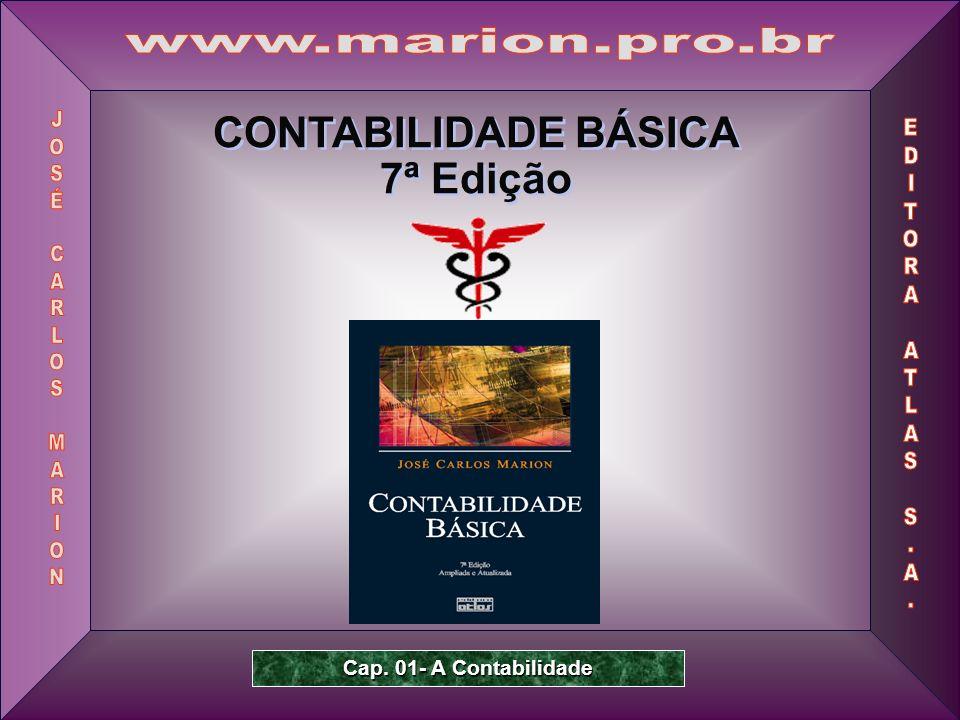 www.marion.pro.br CONTABILIDADE BÁSICA 7ª Edição