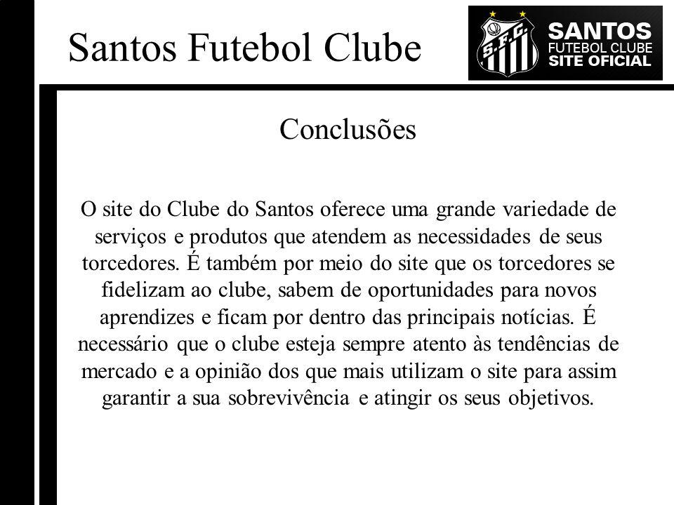Santos Futebol Clube Conclusões