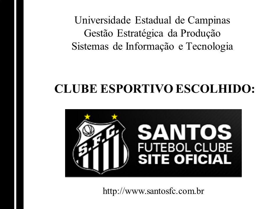 CLUBE ESPORTIVO ESCOLHIDO: