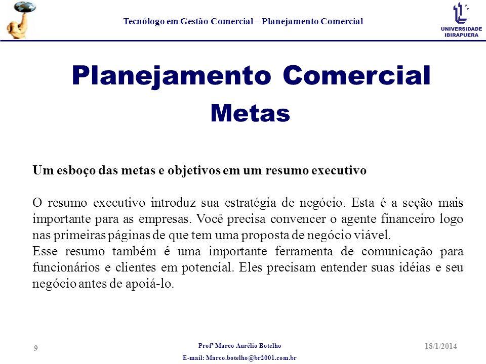 Planejamento Comercial