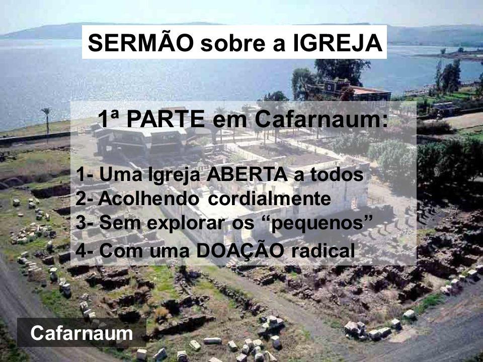 SERMÃO sobre a IGREJA 1ª PARTE em Cafarnaum: