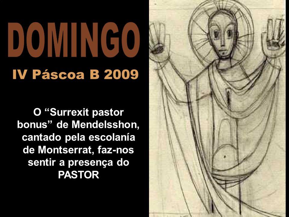 DOMINGO IV Páscoa B 2009.