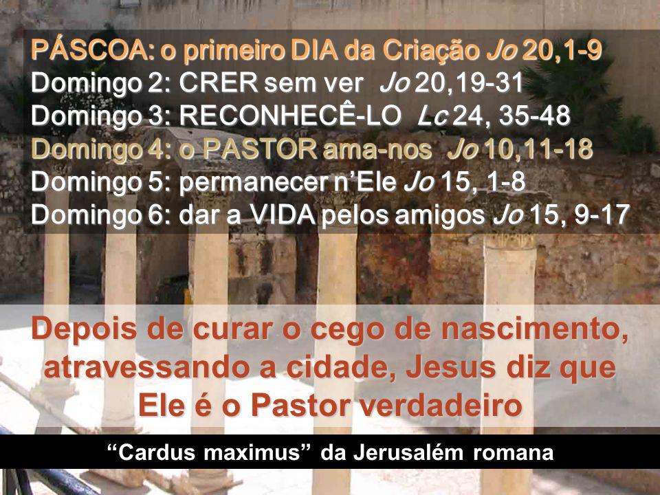 Cardus maximus da Jerusalém romana