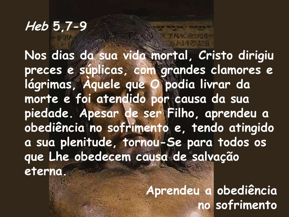 Heb 5,7-9