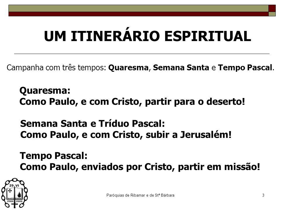 UM ITINERÁRIO ESPIRITUAL