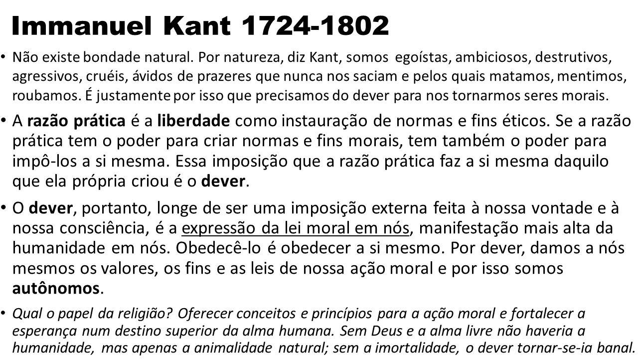 Immanuel Kant 1724-1802