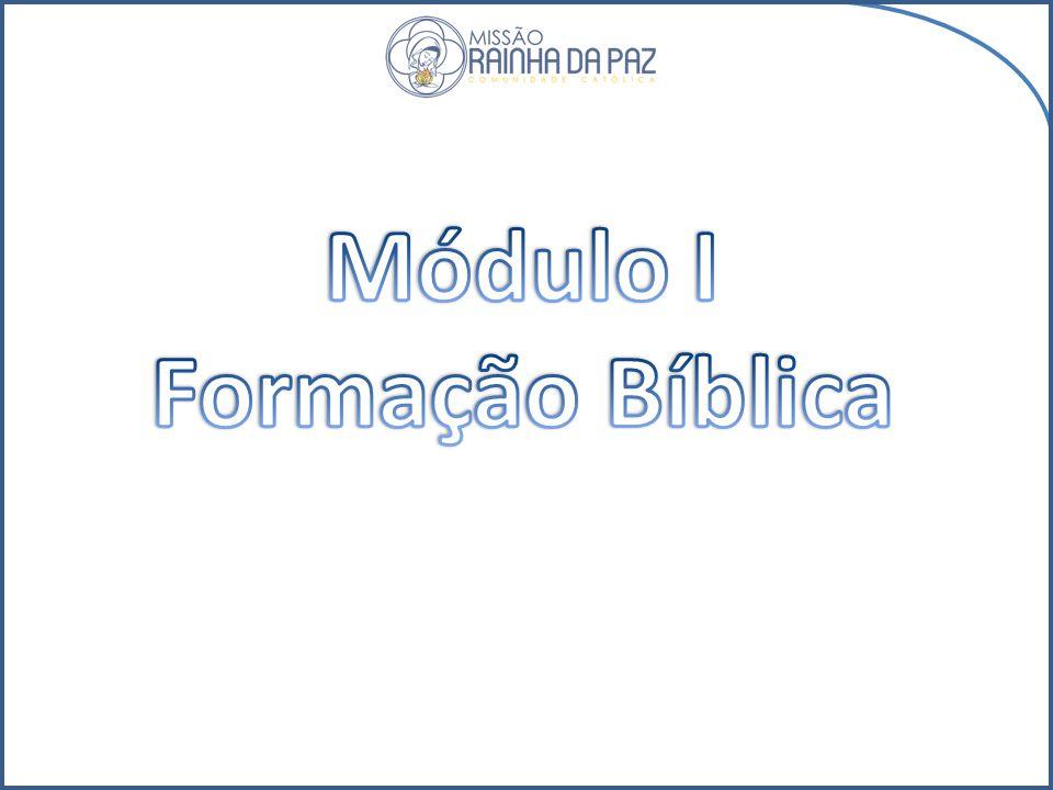 Módulo I Formação Bíblica