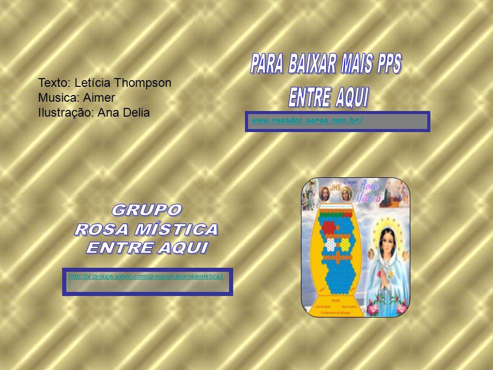 Texto: Letícia Thompson Musica: Aimer Ilustração: Ana Delia