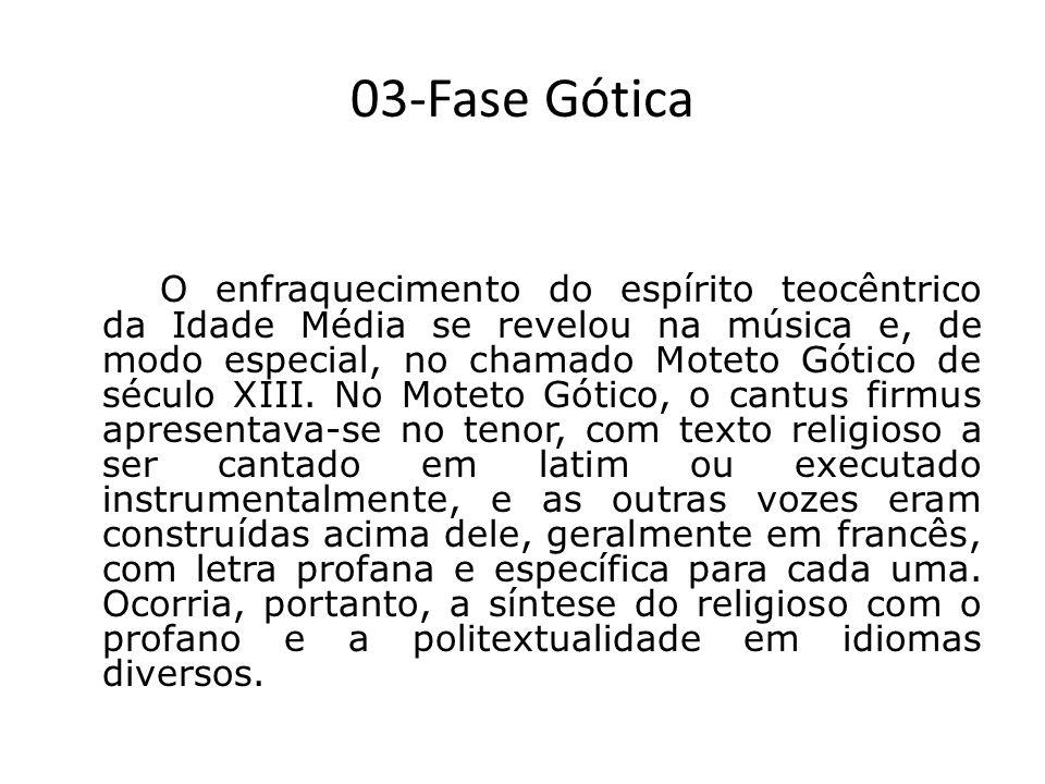 03-Fase Gótica