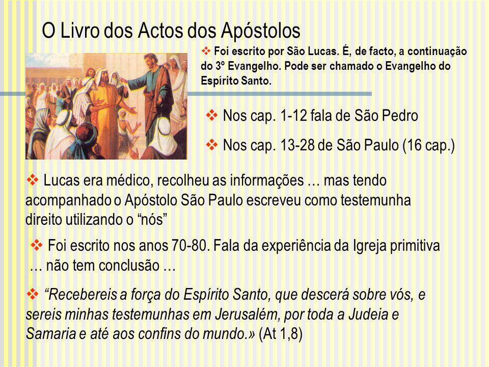 O Livro dos Actos dos Apóstolos
