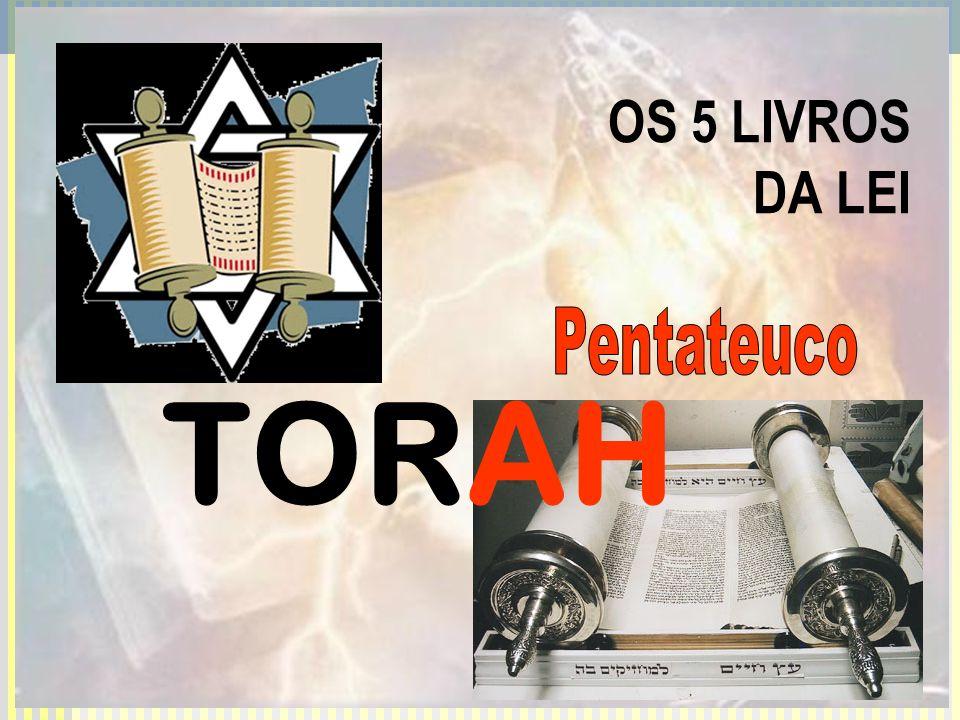 OS 5 LIVROS DA LEI Pentateuco TORAH