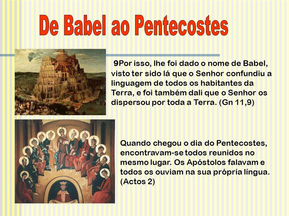 De Babel ao Pentecostes