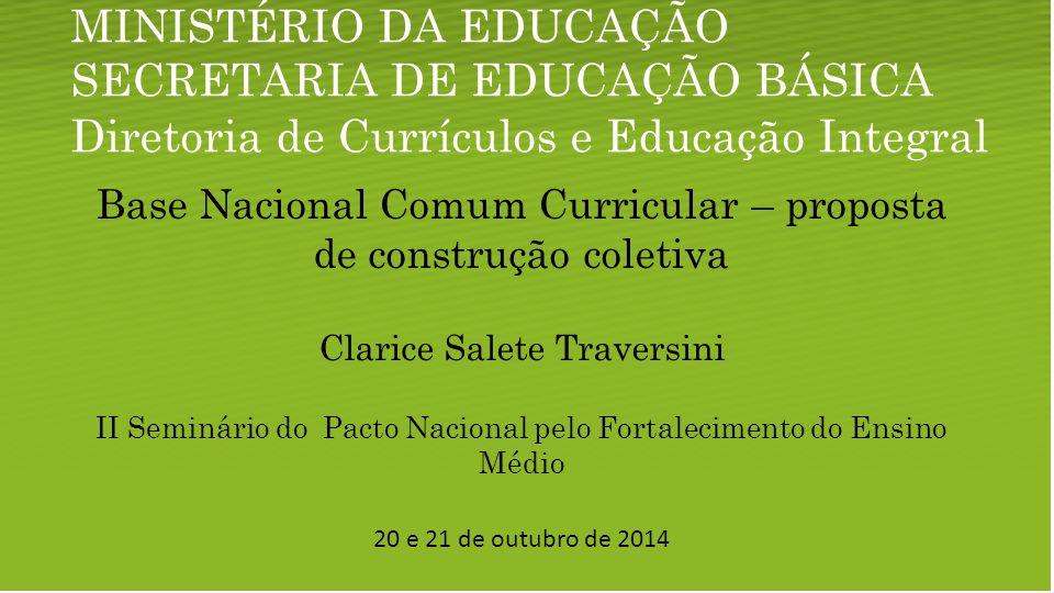 Diretoria de Currículos e Educação Integral