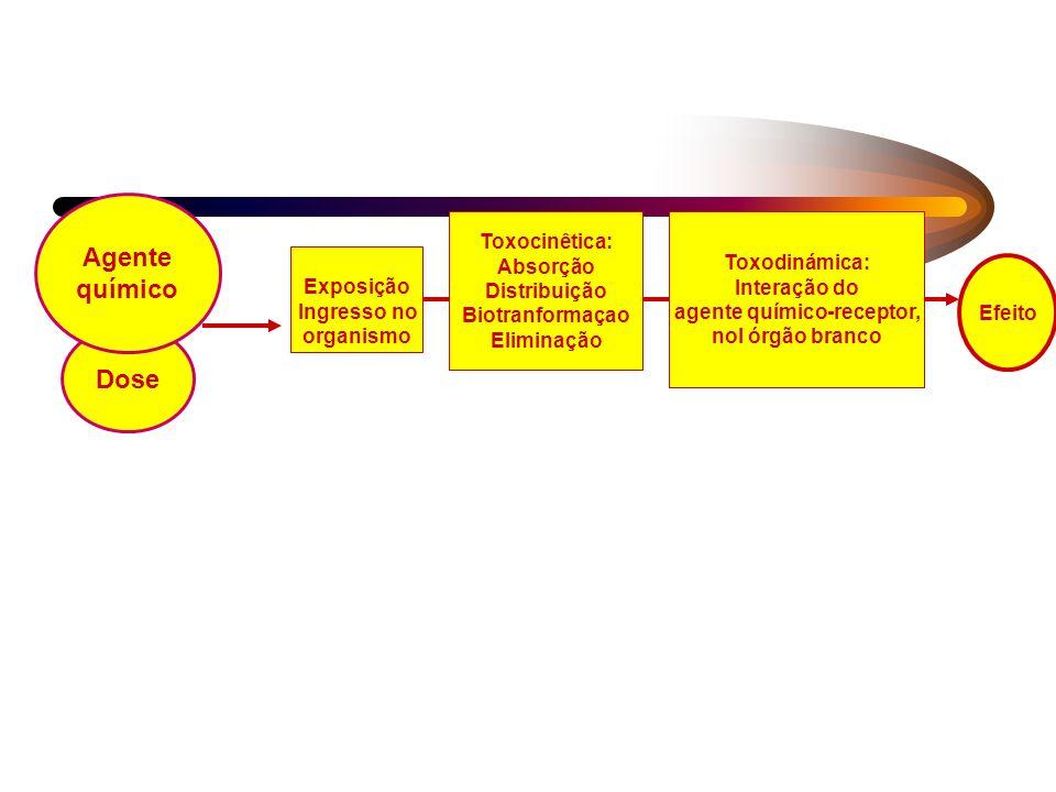 agente químico-receptor,