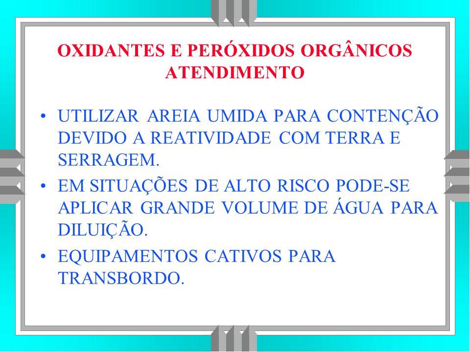 OXIDANTES E PERÓXIDOS ORGÂNICOS ATENDIMENTO