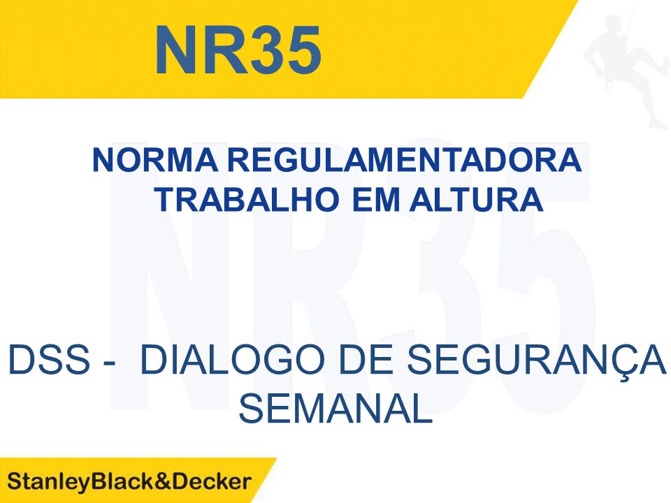81e234b3b881b NORMA REGULAMENTADORA TRABALHO EM ALTURA - ppt video online carregar
