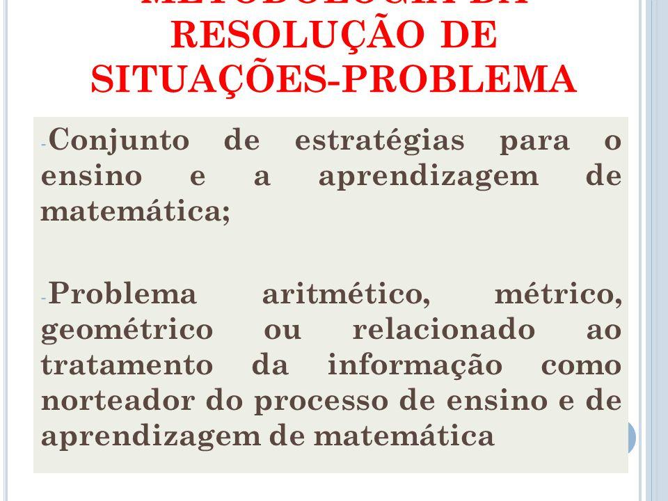 Aprendizagem por resolução de problemas