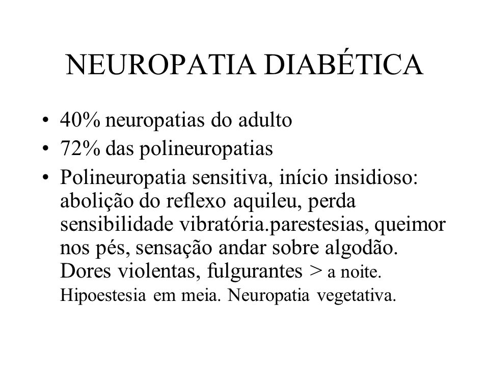 Neuropatias Periféricas - ppt carregar