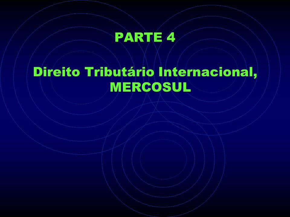 Direito Tributário Internacional, MERCOSUL