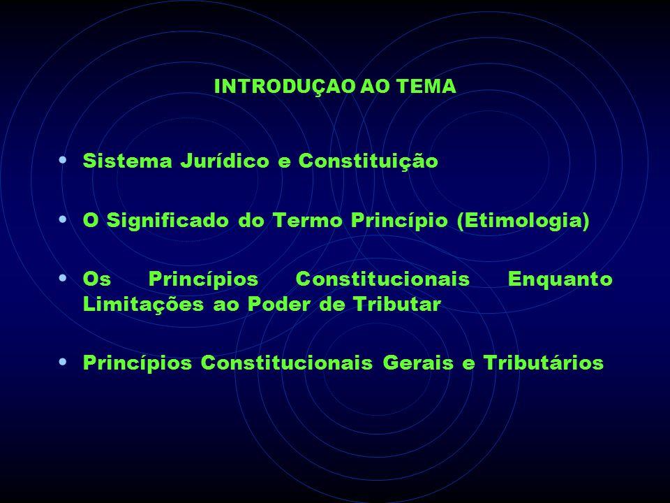 Sistema Jurídico e Constituição