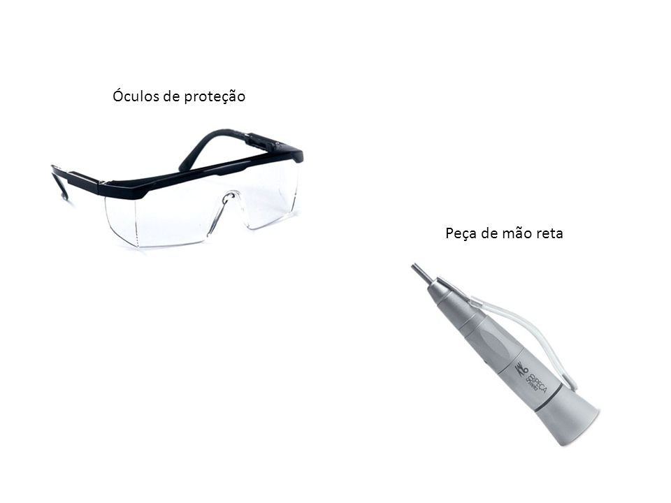 Óculos de proteção Peça de mão reta