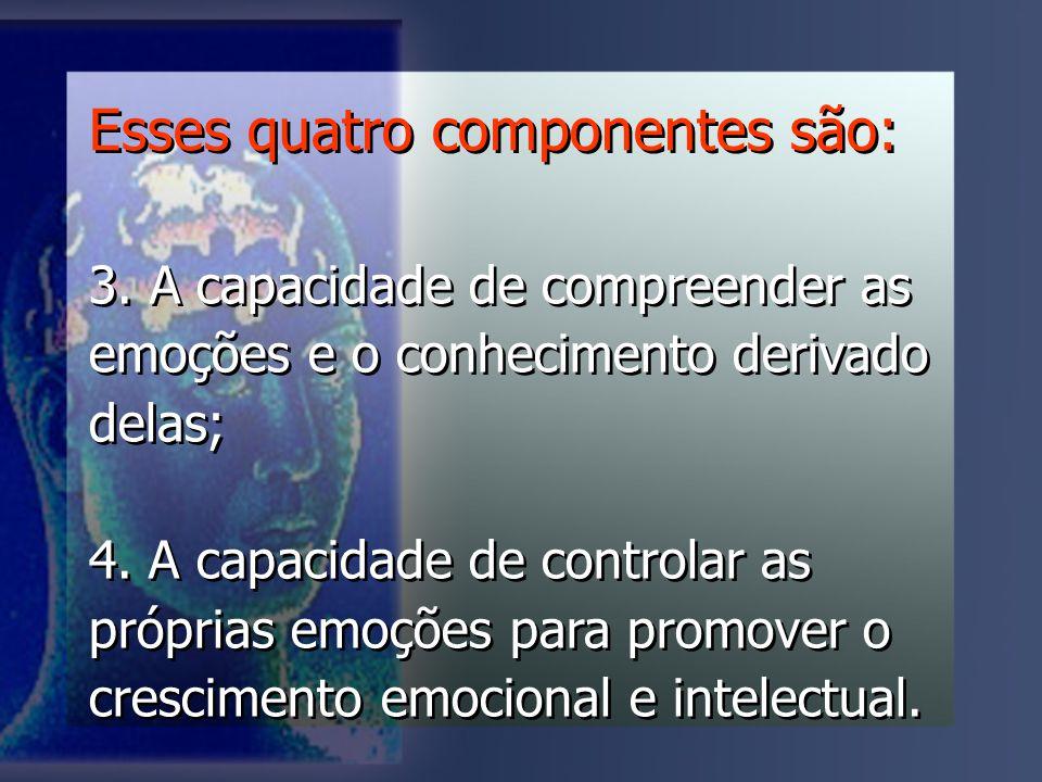 Esses quatro componentes são:
