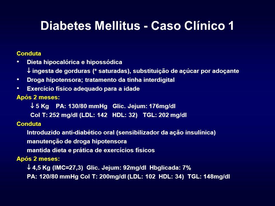 Diabetes Mellitus - Caso Clínico 1