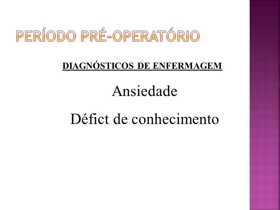 Período pré-operatório