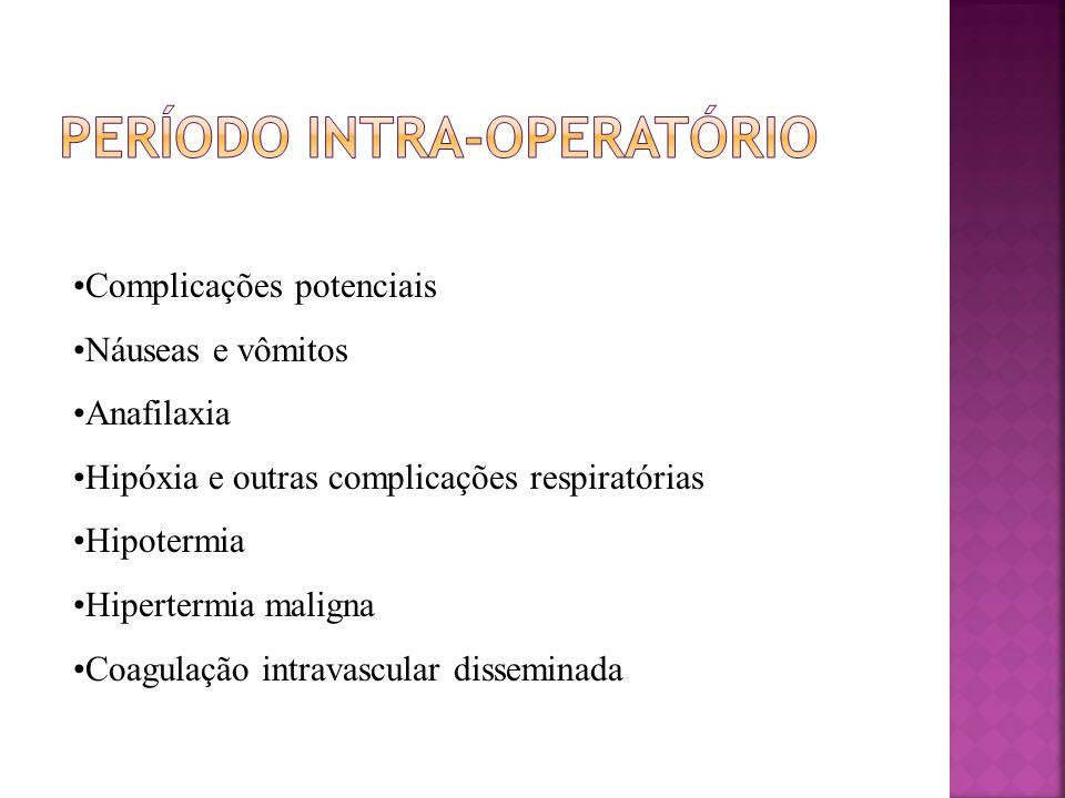 Período intra-operatório