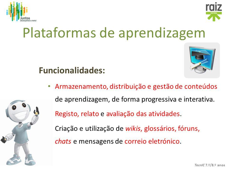 Plataformas de aprendizagem