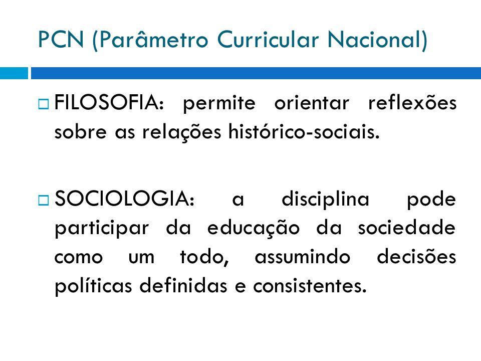 PCN (Parâmetro Curricular Nacional)