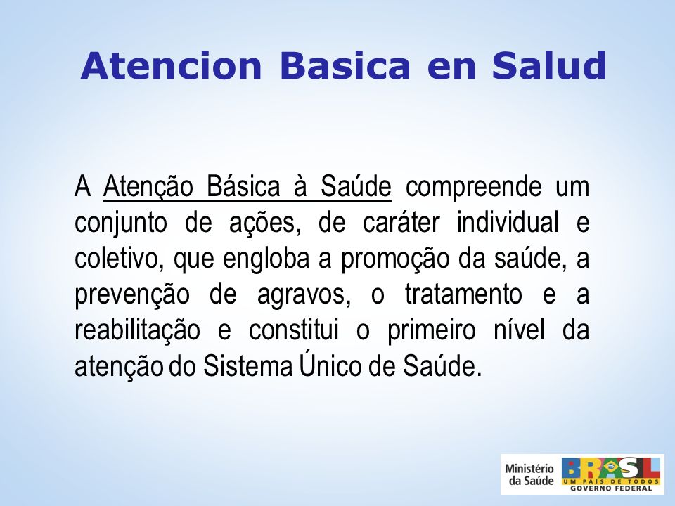 Atencion Basica en Salud