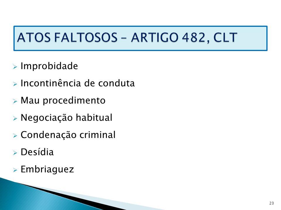 Artigo 22 clt