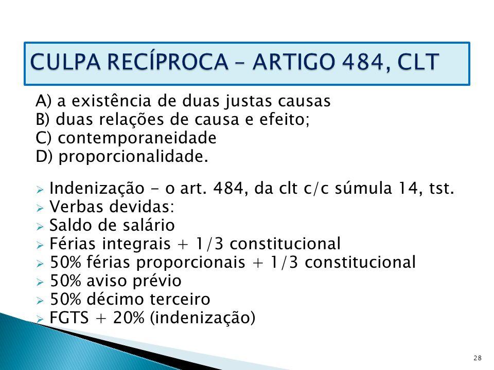 Artigo 139 da clt