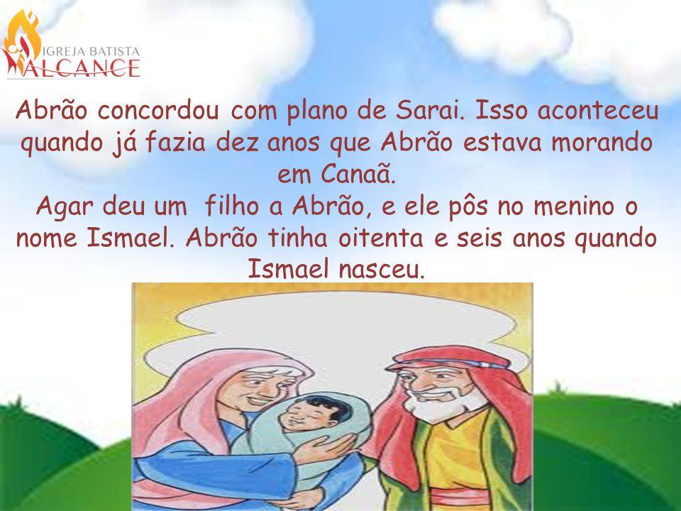 Abrão concordou com plano de Sarai