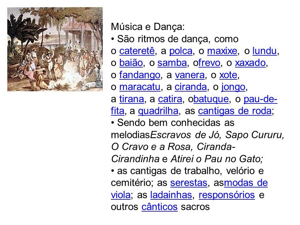 Música e Dança: