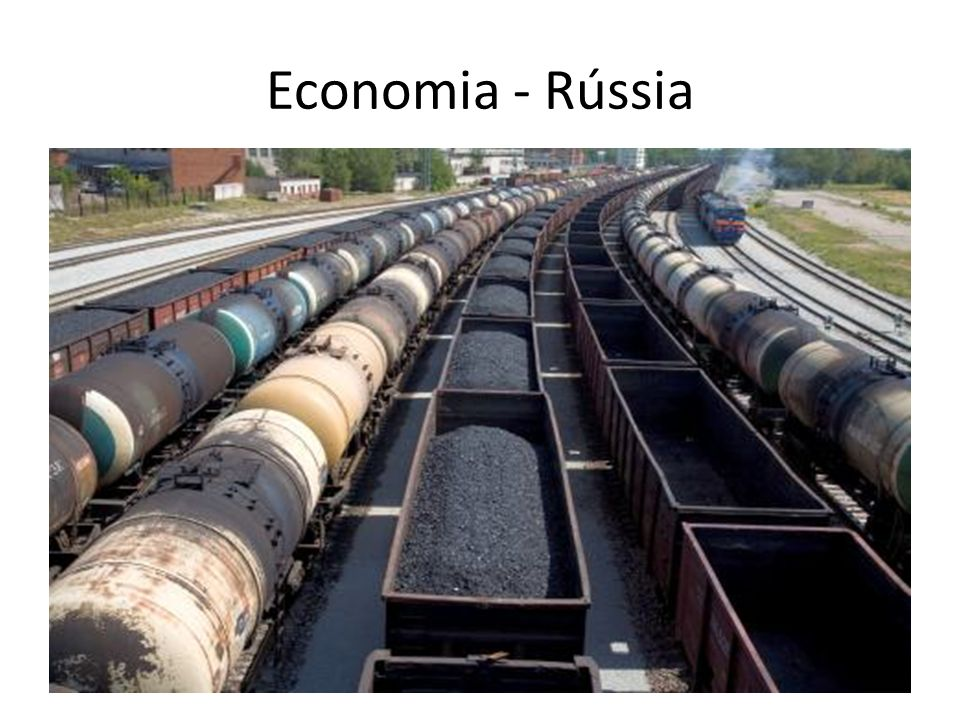 Economia - Rússia