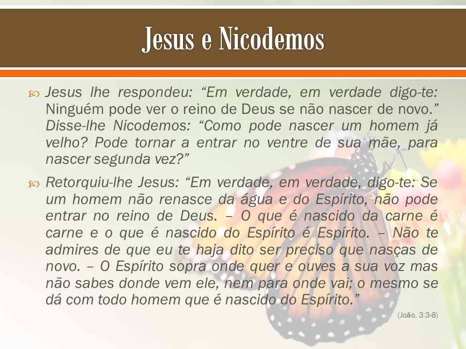 Jesus e Nicodemos